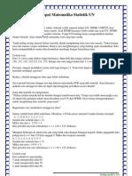 Cara Cepat Menghitung Soal Statistika Uan1