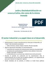 Reprimarizacion Y Desindustralizacion en Amercia Latina