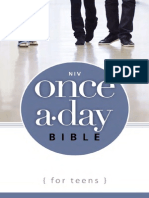 Once-A-Day Bible for Teens