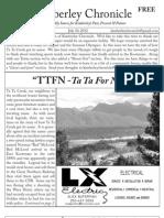 Kimberley Chronicle Issue # 11.