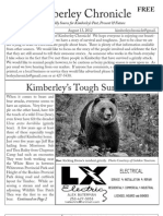 Kimberley Chronicle Issue # 12.