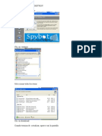 Instrucciones Escaneo Con Spybot Search