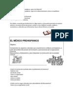 Primera Sesion Historia de Mexico
