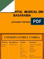 Invatamintul Muzical in Basarabia Perioada Interbelica