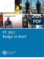 Homeland Security Budget