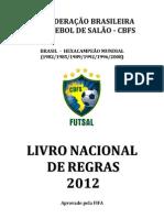 Livro de Regras de Futsal 2012