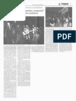 """Artieda pide """"reconocimiento y memoria"""" para los afectados por los embalses"""