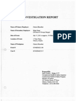 0- Investigation Report
