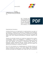 Concepto Sobre Matrimonio Igualitario 2012