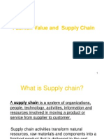 Fashion value and supply chain
