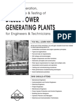 Diesel Power Generating Plants