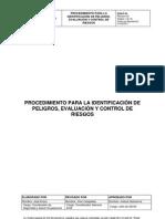 228-EHS-P-24 Identificación de Peligros, Evaluación y Control de Riesgos