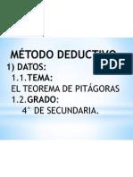 metodo deductivo