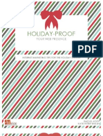 Holiday Proof Your Web Presence