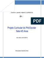 Projectob Curricular Sala a - 12 13