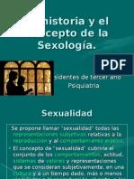la historia y el concepto de la sexología