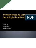 Fundamentos da Tecnologia da Informação - slide da apresentação