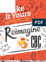 Reimagine CBC Report - Make It Yours
