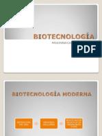 PRESENTACIÓN BIOTECNOLOGÍA