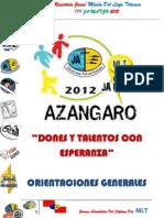 Orientaciones Generales III Ja Match Mlt 2012