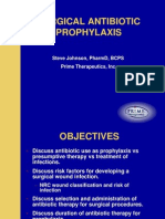 Surgical Prophylaxis