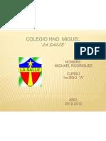 Rodriguez Michael 1ro Bgu ''a''