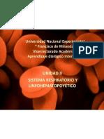 Sitema hematopoyético. Tema 1
