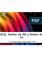 ECG - HOLTER PA Y FC