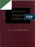 Teología Dogmática - SCHMAUS - 07 - los novisimos - OCR