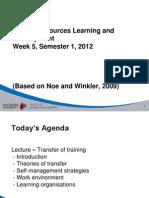 Human Resources Management - 5