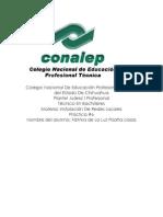 Colegio Nacional De Educación Profesional Técnico del Estado De Chihuahua