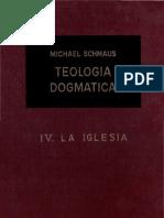 Teología Dogmática - SCHMAUS - 04 - la Iglesia - OCR