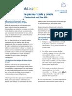 Pasteurizacion Casera
