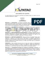 Reglamento de Equipos COLPATAC (Versión aprobada Junta 19 de abril)