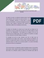 ANÁLISIS DE LAS TIC EN LA INSTITUCIÓN EDUCATIVA ANTONIO JOSÉ BERNAL