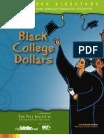 Black College Dollars 2007-2008 Scholarship Directory