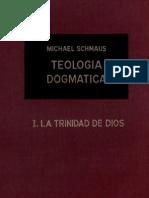 Teología Dogmática - SCHMAUS - 01 - La Trinidad de Dios - OCR