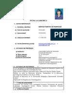 Curriculum Maritza