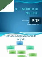 Capitulo II Modelo de Negocio