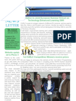 CUELC Newsletter 5 - January 2009