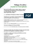 Colloque Rossillon