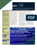 Area 'B' Newsletter - Nov 2012