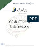 Lista Sinapsis 2013