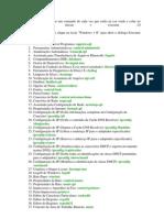 Lista de Comandos Windows
