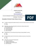 Canadian Criminal Code