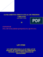 Curso Nacional de Saneamiento Fisico Legal de Predios Urbanos Ley 27157 y 27333 Colegio de Arquitectos Del Peru - Dias 16, 17, 18, 19 de Julio Del 2012_8