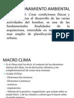 Clase 3 Bioclimatica 2011