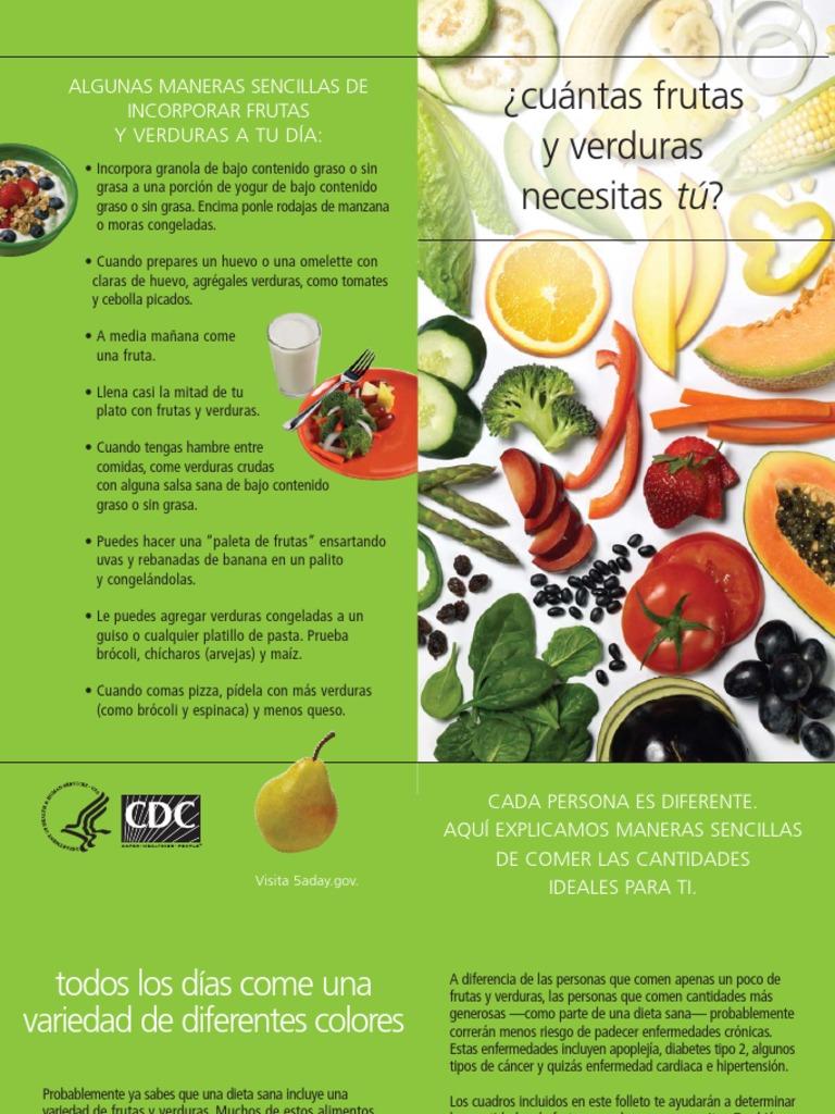 dieta de frutas y verduras crudas