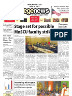 'Election Day' layout for City College News