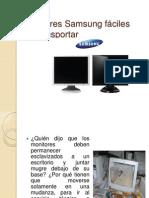 Monitores Samsung fáciles de transportar